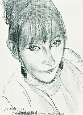 【铅笔速写人物篇】李阳重走玄奘路第一季写生作品